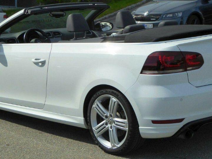 Volkswagen Golf VI R 2.0 TSI 265 DSG6 Cabriolet 09/2013 Blanc métal  - 7