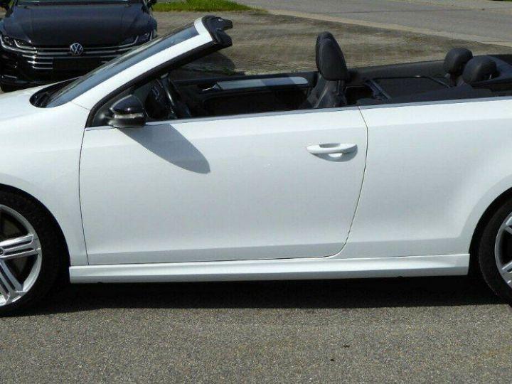 Volkswagen Golf VI R 2.0 TSI 265 DSG6 Cabriolet 09/2013 Blanc métal  - 8