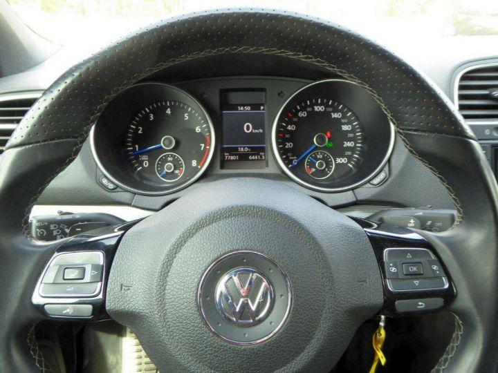 Volkswagen Golf VI R 2.0 TSI 265 DSG6 Cabriolet 09/2013 Blanc métal  - 9