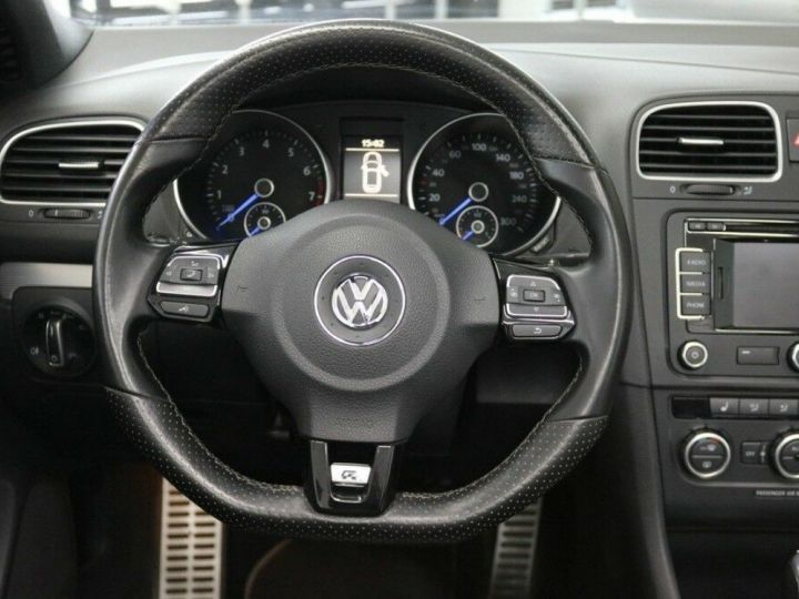 Volkswagen Golf VI R Cabriolet 2.0 TSI 265 DSG BLANC - 13