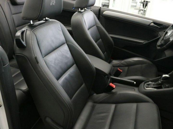 Volkswagen Golf VI R Cabriolet 2.0 TSI 265 DSG BLANC - 17