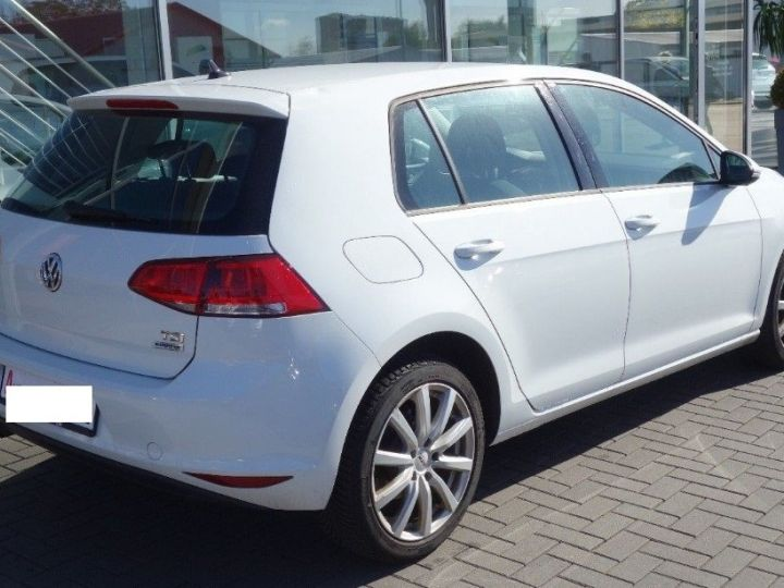 Volkswagen Golf VII 1.2 TSI 110 BLUEMOTION  CONFORTLINE 5P (09/2017) blanc - 4