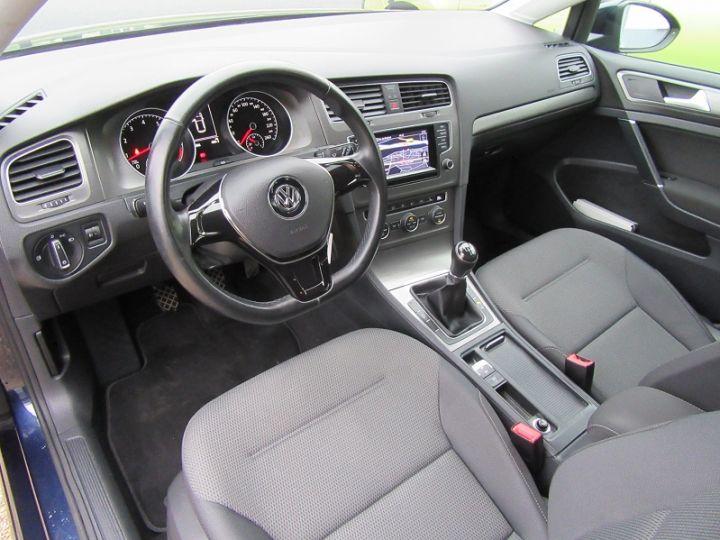 Volkswagen Golf VII 1.2 TSI 85CH BLUEMOTION TECHNOLOGY CONFORTLINE 5P Bleu Occasion - 2