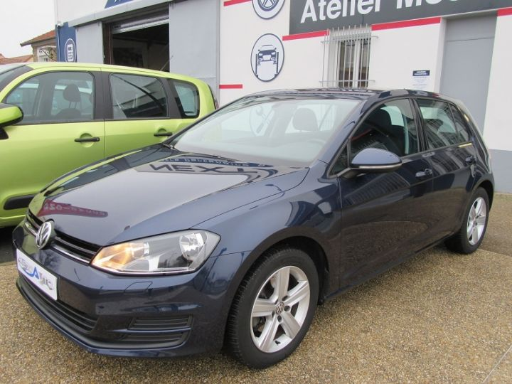 Volkswagen Golf VII 1.2 TSI 85CH BLUEMOTION TECHNOLOGY CONFORTLINE 5P Bleu Occasion - 11