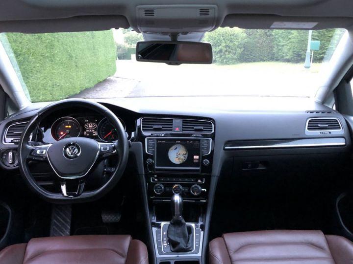 Volkswagen Golf VII 1.4 TSI 150 BLUEMOTION TECHNOLOGY CARAT EDITION DSG7 Full option +cuir + toit pano Gris Tungsten Métallisé Occasion - 4