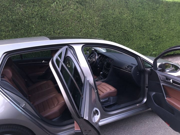 Volkswagen Golf VII 1.4 TSI 150 BLUEMOTION TECHNOLOGY CARAT EDITION DSG7 Full option +cuir + toit pano Gris Tungsten Métallisé Occasion - 5