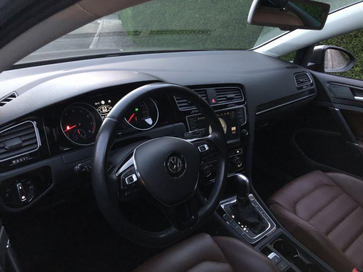 Volkswagen Golf VII 1.4 TSI 150 BLUEMOTION TECHNOLOGY CARAT EDITION DSG7 Full option +cuir + toit pano Gris Tungsten Métallisé Occasion - 6
