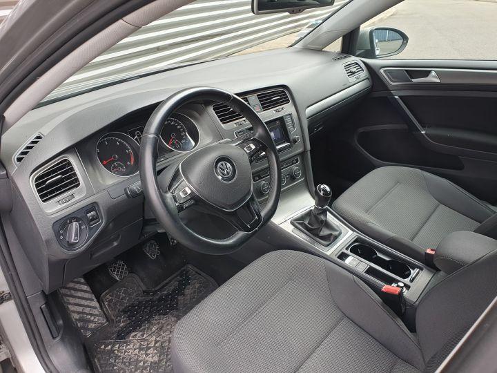 Volkswagen Golf VII 1.6 TDI 105 CONFORTLINE 5P o Gris Métallisé Occasion - 8