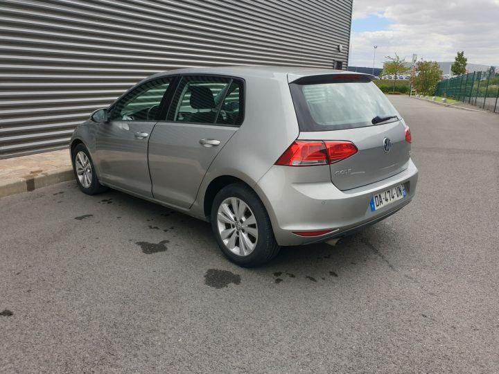 Volkswagen Golf VII 1.6 TDI 105 CONFORTLINE 5P o Gris Métallisé Occasion - 12