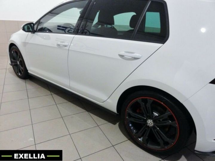 Volkswagen Golf VII 2.0 GTI PERFORMANCE 245Ch  BLANC METALISEE Occasion - 1