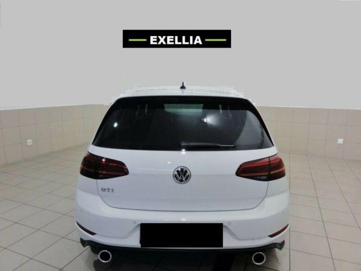 Volkswagen Golf VII 2.0 GTI PERFORMANCE 245Ch  BLANC METALISEE Occasion - 2