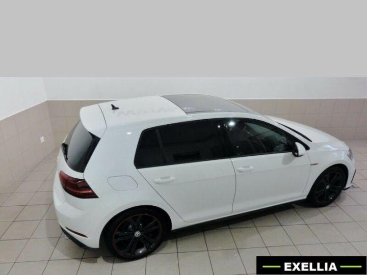 Volkswagen Golf VII 2.0 GTI PERFORMANCE 245Ch  BLANC METALISEE Occasion - 3