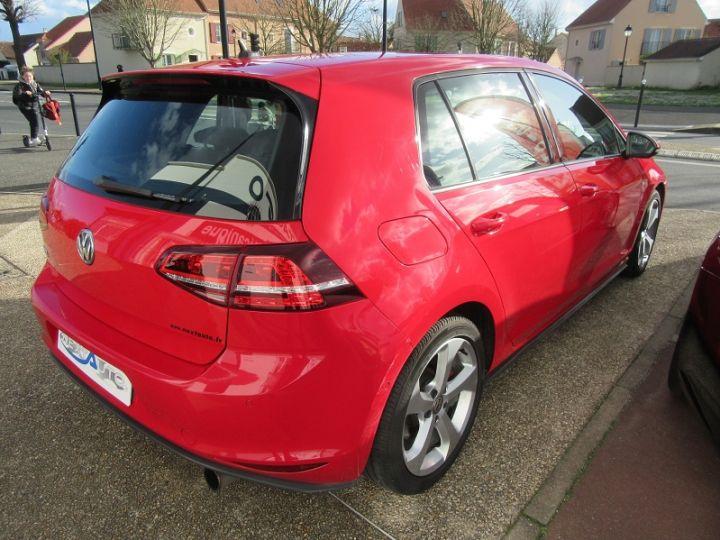 Volkswagen Golf VII GTI 2.0 TSI 220CH BLUEMOTION TECHNOLOGY DSG6 5P Rouge Occasion - 3