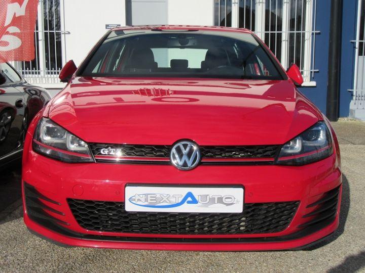 Volkswagen Golf VII GTI 2.0 TSI 220CH BLUEMOTION TECHNOLOGY DSG6 5P Rouge Occasion - 6