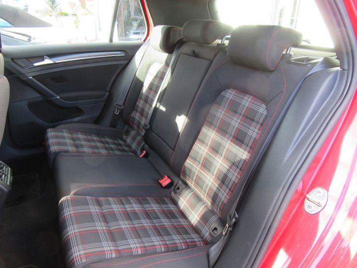 Volkswagen Golf VII GTI 2.0 TSI 220CH BLUEMOTION TECHNOLOGY DSG6 5P Rouge Occasion - 8