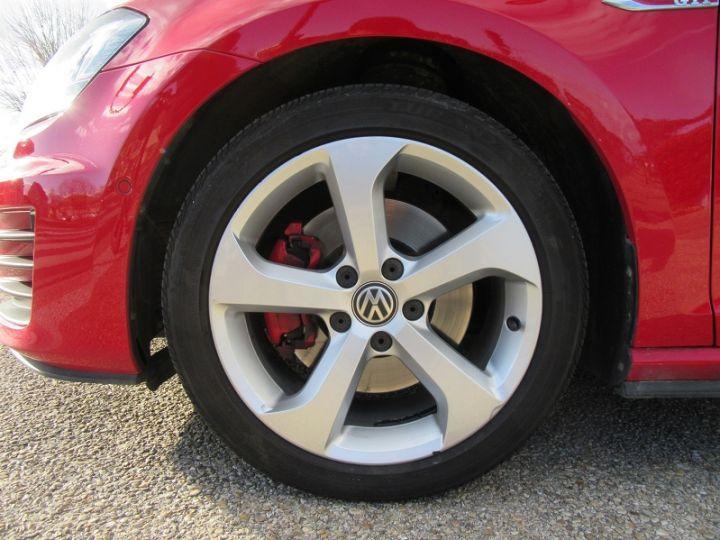 Volkswagen Golf VII GTI 2.0 TSI 220CH BLUEMOTION TECHNOLOGY DSG6 5P Rouge Occasion - 10