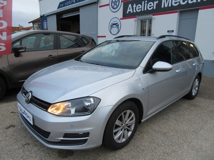 Volkswagen Golf VII SW 1.6 TDI 110CH BLUEMOTION FAP TRENDLINE BUSINESS Gris Clair Occasion - 7