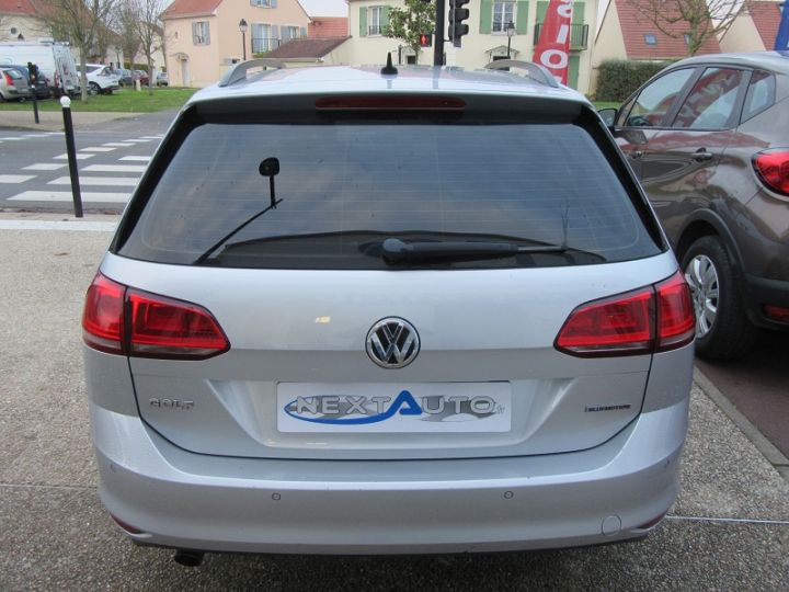 Volkswagen Golf VII SW 1.6 TDI 110CH BLUEMOTION FAP TRENDLINE BUSINESS Gris Clair Occasion - 16