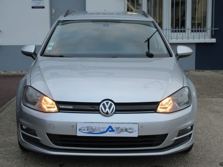 Volkswagen Golf VII SW 1.6 TDI 110CH BLUEMOTION FAP TRENDLINE BUSINESS Gris Clair Occasion - 18