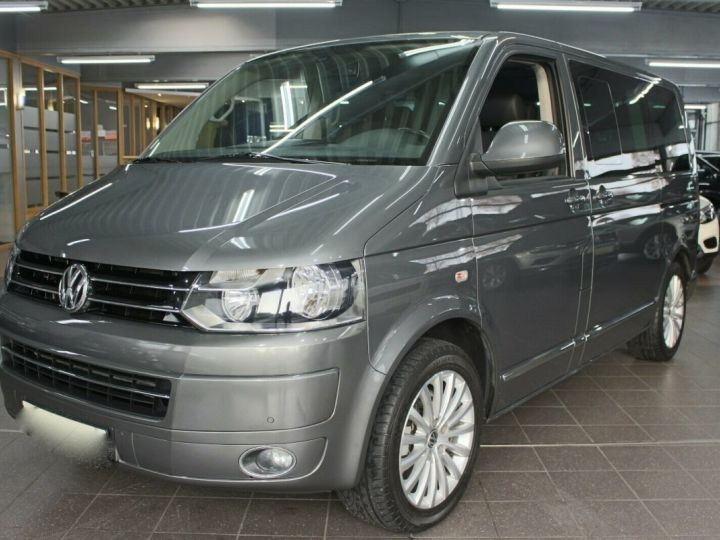 Volkswagen Multivan T5 2.0 BiTDi 179 Cv Gris - 3