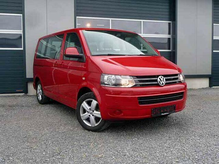 Volkswagen Multivan # Volkswagen T5 Multivan 2.0 TDI Comfortline  Rouge - 1