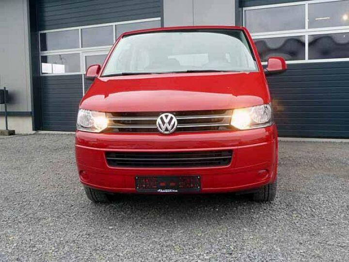 Volkswagen Multivan # Volkswagen T5 Multivan 2.0 TDI Comfortline  Rouge - 2