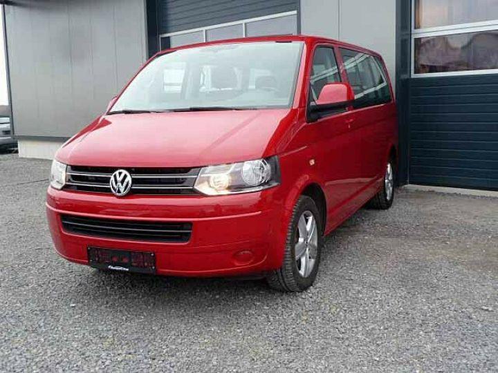 Volkswagen Multivan # Volkswagen T5 Multivan 2.0 TDI Comfortline  Rouge - 3