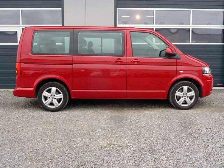 Volkswagen Multivan # Volkswagen T5 Multivan 2.0 TDI Comfortline  Rouge - 4