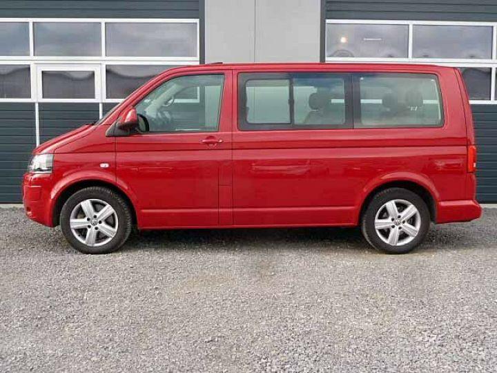 Volkswagen Multivan # Volkswagen T5 Multivan 2.0 TDI Comfortline  Rouge - 5