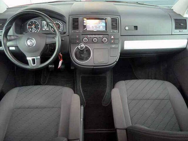 Volkswagen Multivan # Volkswagen T5 Multivan 2.0 TDI Comfortline  Rouge - 6