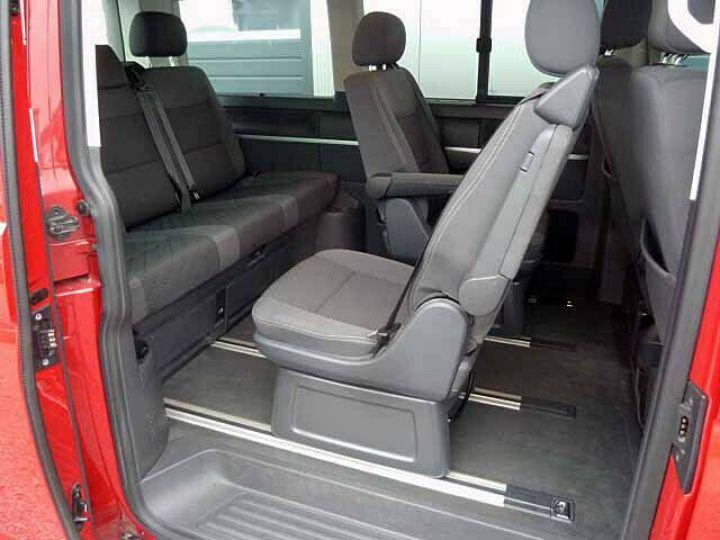 Volkswagen Multivan # Volkswagen T5 Multivan 2.0 TDI Comfortline  Rouge - 9
