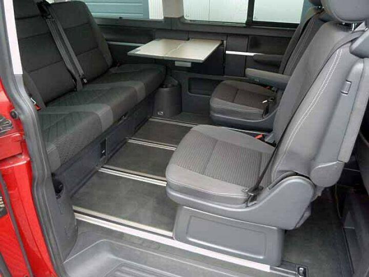 Volkswagen Multivan # Volkswagen T5 Multivan 2.0 TDI Comfortline  Rouge - 10
