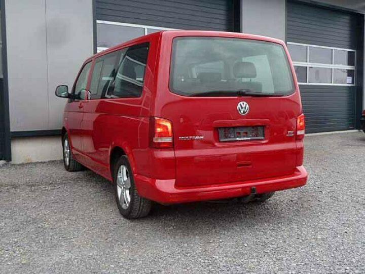 Volkswagen Multivan # Volkswagen T5 Multivan 2.0 TDI Comfortline  Rouge - 12