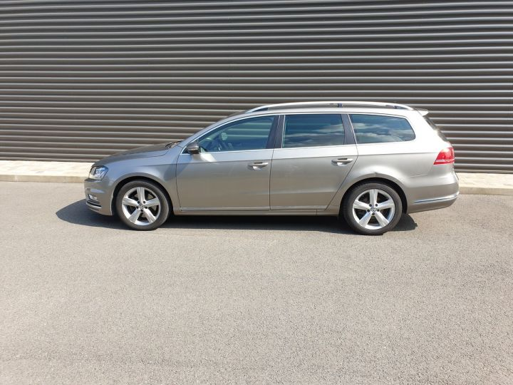 Volkswagen Passat 7 sw 2.0 tdi 140 4motion Brun Occasion - 4