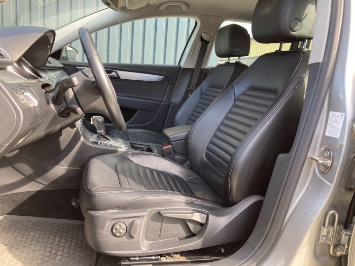 Volkswagen Passat SW 2.0 177CH BLUEMOTION TECHNOLOGY FAP CARAT 4MOTION DSG6 gris  - 6