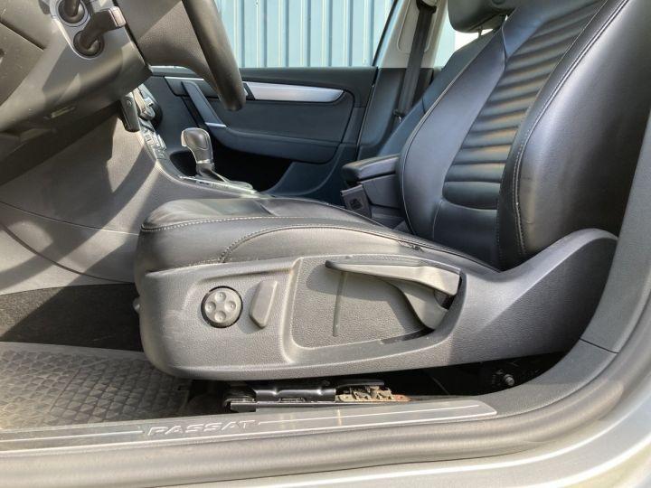 Volkswagen Passat SW 2.0 177CH BLUEMOTION TECHNOLOGY FAP CARAT 4MOTION DSG6 gris  - 7