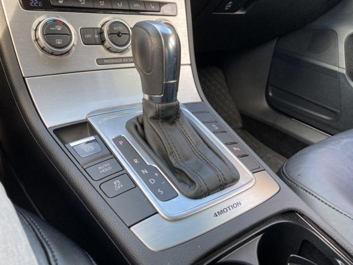 Volkswagen Passat SW 2.0 177CH BLUEMOTION TECHNOLOGY FAP CARAT 4MOTION DSG6 gris  - 14