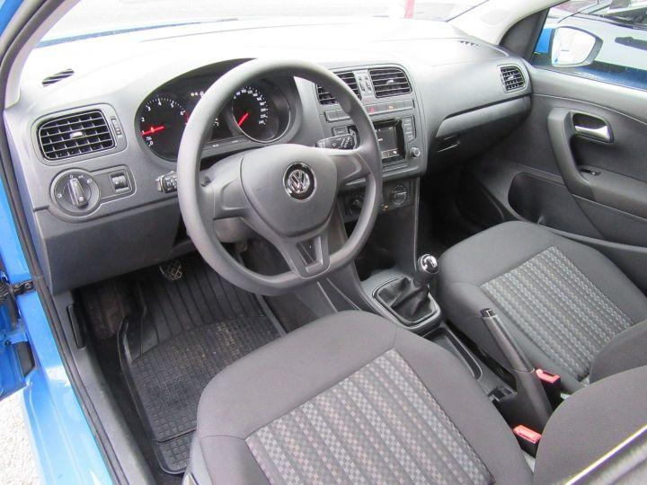 Volkswagen Polo 1.0 60CH TRENDLINE 5P Bleu - 2