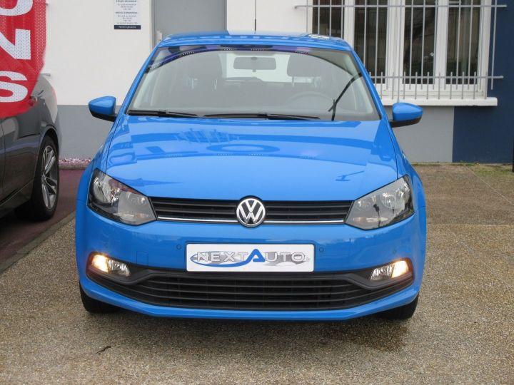 Volkswagen Polo 1.0 60CH TRENDLINE 5P Bleu - 6