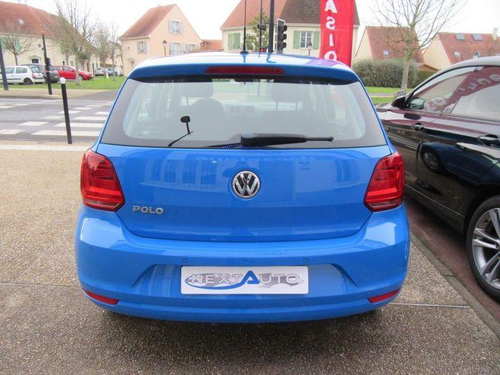 Volkswagen Polo 1.0 60CH TRENDLINE 5P Bleu - 7