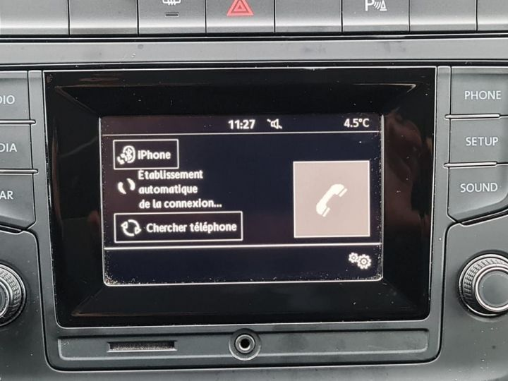 Volkswagen Polo 1.0 60CH TRENDLINE 5P Bleu - 11