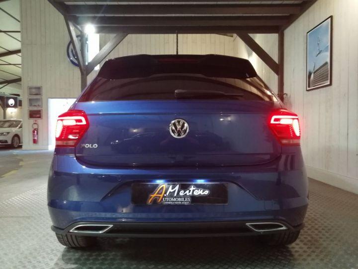 Volkswagen Polo 1.0 TSI 115 CV CARAT RLINE BV6 Bleu - 4