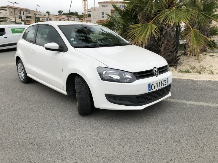 Volkswagen Polo 1.2 60CH MATCH 3P Blanc - 1