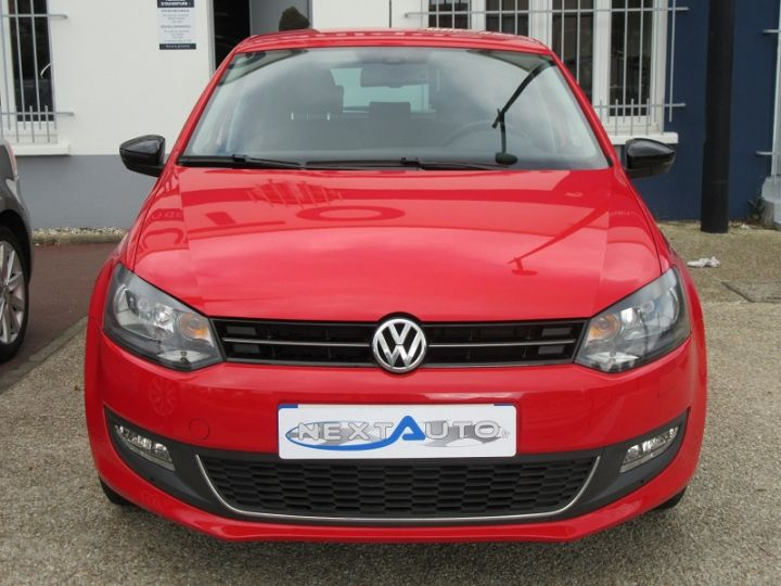 Volkswagen Polo 1.2 60CH MATCH 5P Rouge Occasion - 7
