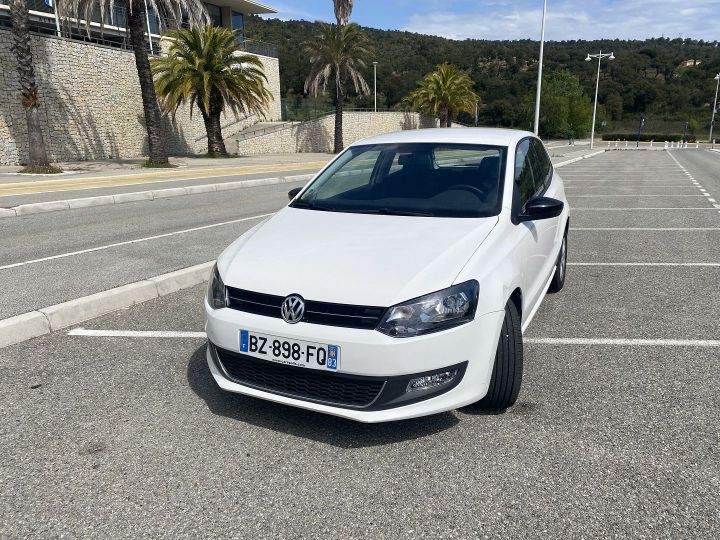 Volkswagen Polo 1.2 60CH STYLE 3P Blanc - 1
