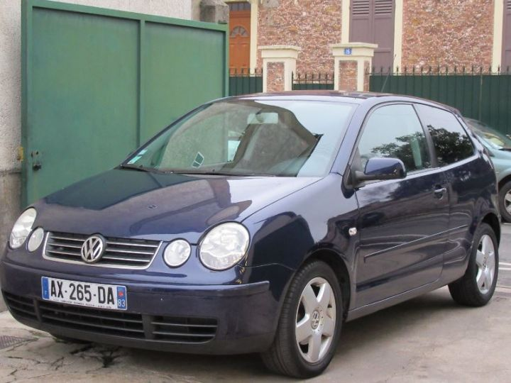 Volkswagen Polo 1.2 65CH MATCH 3P BLEU Occasion - 1