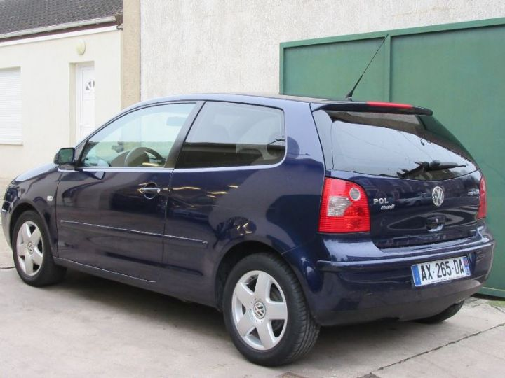 Volkswagen Polo 1.2 65CH MATCH 3P BLEU Occasion - 3