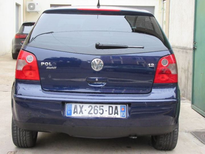 Volkswagen Polo 1.2 65CH MATCH 3P BLEU Occasion - 7