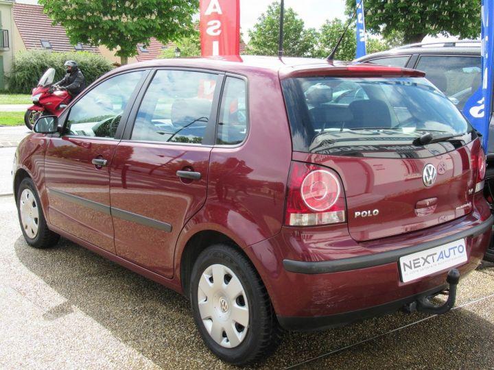Volkswagen Polo 1.4 80CH TREND 5P Bordeau - 3