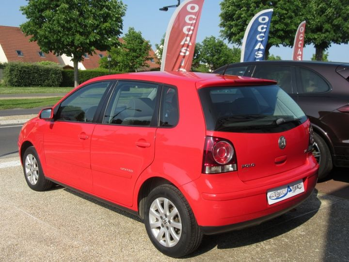 Volkswagen Polo 1.4 80CH UNITED 5P Rouge Occasion - 3